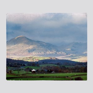 Balwith Knott, Cumbria Throw Blanket