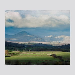 Blawith Knott in Cumbria Throw Blanket