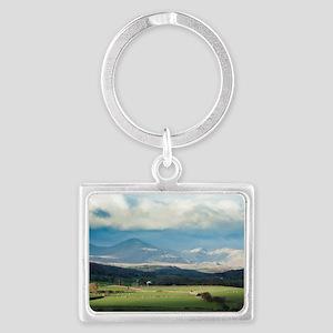 Blawith Knott in Cumbria Landscape Keychain
