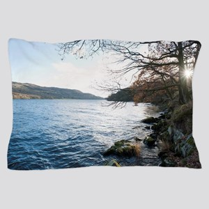 coniston waster sunset Pillow Case