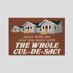 """Whole Cul-de-Sac"" Rectangle Magnet"