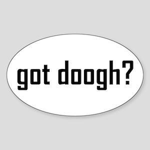 Got Doogh? Oval Sticker