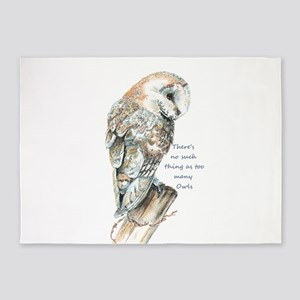 No such thing as too many Owls Fun Quote Barn Owl