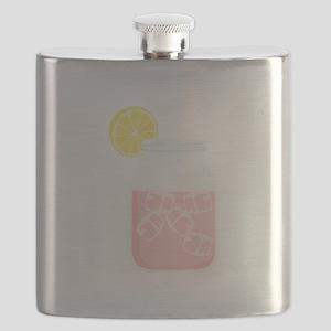 Glass Mason Jar Pink Lemonade Beverage Drink Flask