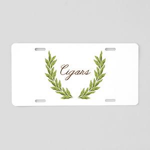 Cigars Aluminum License Plate
