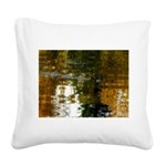 Spring Square Canvas Pillow