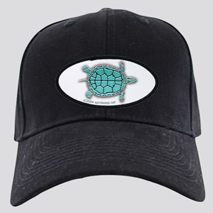 Turtle in Turquoise Black Cap