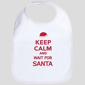 Keep calm and wait for Santa Bib