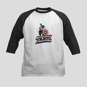 Captain America Classic Kids Baseball Jersey
