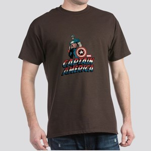 Captain America Classic Dark T-Shirt
