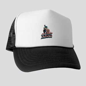 Captain America Classic Trucker Hat