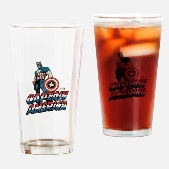 Captain America Classic Drinking Glass