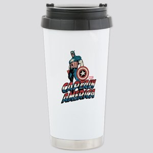 Captain America Classic Stainless Steel Travel Mug