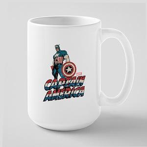 Captain America Classic Large Mug