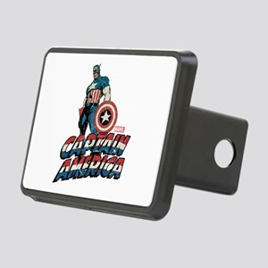Captain America Classic Rectangular Hitch Cover