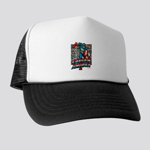 Captain America Classic Trucker Hat