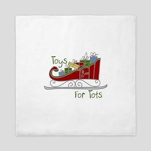 Toys for Tots Queen Duvet