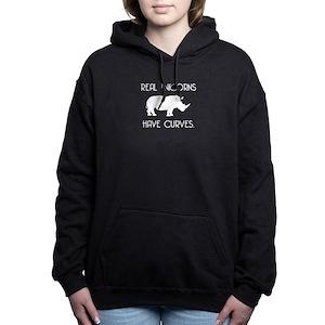 424b2820b7a Rhino Unicorn Women s Hoodies   Sweatshirts - CafePress