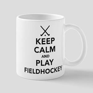 Keep calm and play Field Hockey Mug
