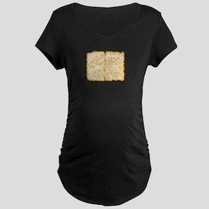 Adventure Map Maternity T-Shirt