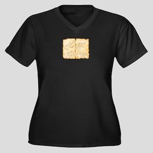 Adventure Map Plus Size T-Shirt