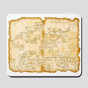 Adventure Map Mousepad