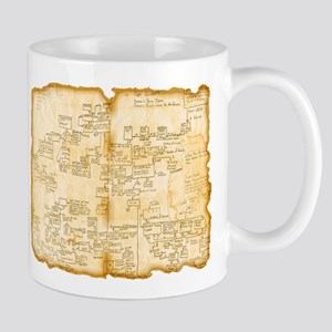 Adventure Map Mugs