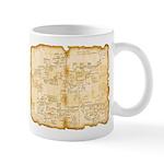 Adventure Map Mugs