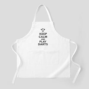 Keep calm and play Darts Apron