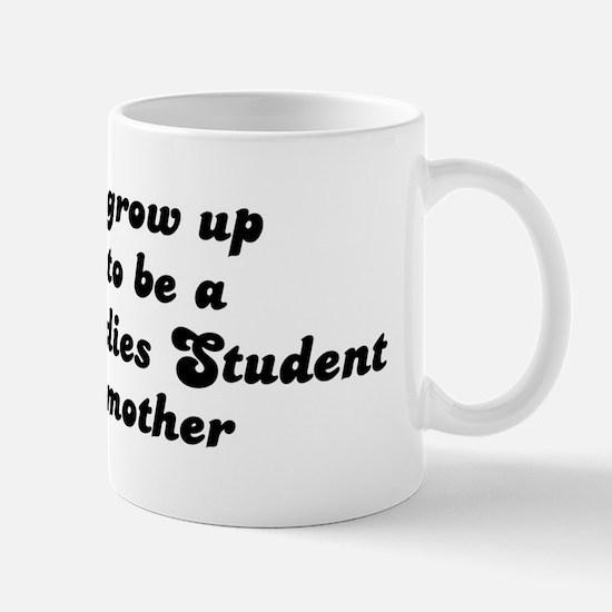 Museum Studies Student like m Mug