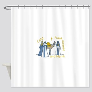 Three Kings Gifts Shower Curtain