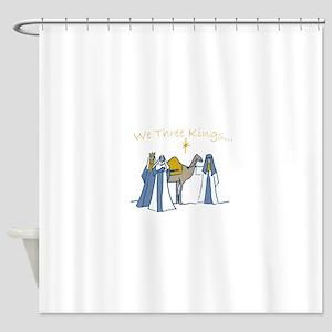 We Three Kings Shower Curtain