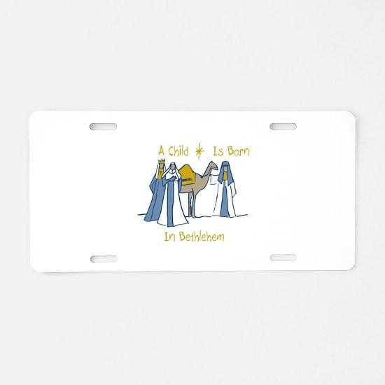 Bethlehem Kings Aluminum License Plate