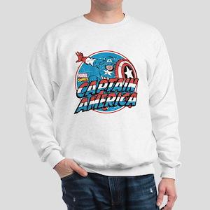 Captain America Vintage Sweatshirt