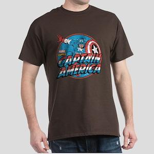 Captain America Vintage Dark T-Shirt