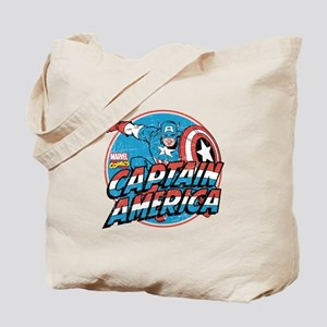 Captain America Vintage Tote Bag