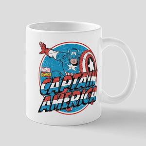 Captain America Vintage Mug