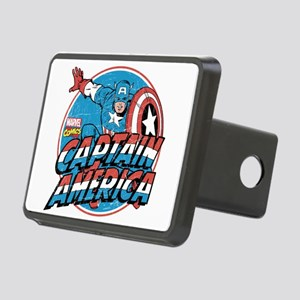 Captain America Vintage Rectangular Hitch Cover