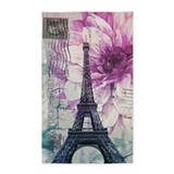 Eiffel tower paris 3x5 Rugs