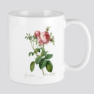Lovely vintage pink rose Mugs