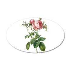 Lovely vintage pink rose Decal Wall Sticker