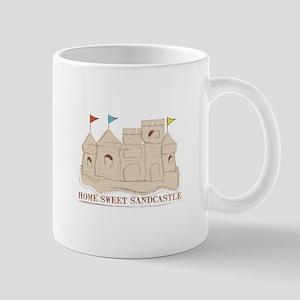 Home Sweet Sandcastle Mugs