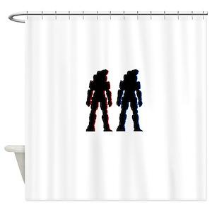 Halo Spartan Shower Curtains
