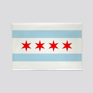 Flag of Chicago Magnets