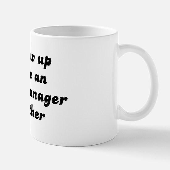 Operations Manager like my mo Mug