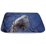 Snowy White Owl Bathmat