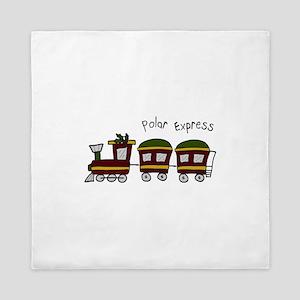 Polar Express Queen Duvet