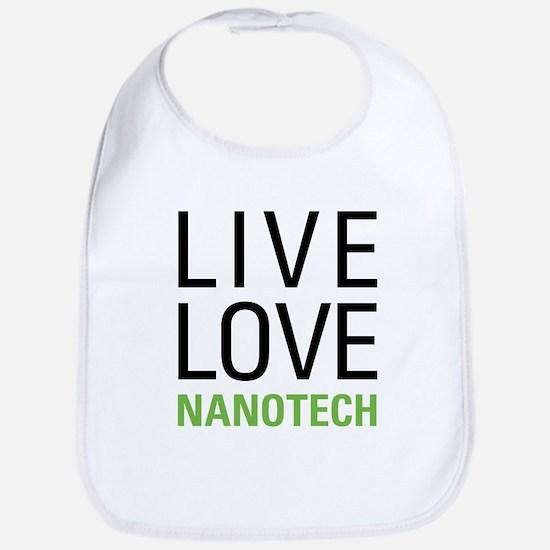 Live Love Nanotech Bib