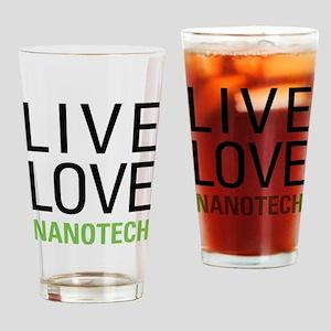 Live Love Nanotech Drinking Glass