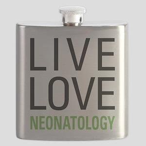 Live Love Neonatology Flask